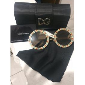 232df3aa82a08 Óculos De Sol Dolce   Gabbana Com lente polarizada no Mercado Livre ...