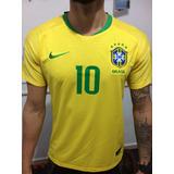 bfbf712a12 Camisa Brasil Copa 2018 Jogador - Camisa Brasil Masculina no Mercado ...