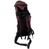 Mochila Canguru Para Carregar Criança Vermelha B3669