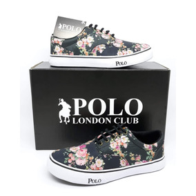 Tênis Feminino Polo London Club Florido