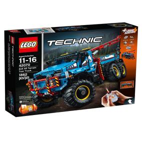 Tc Camión Grúa Todoterreno 6x6 Lego - 42070