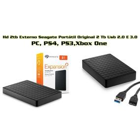 Hd Externo-2tb Usb-3.0 Seagate Slin Pc/ps4/xbox One