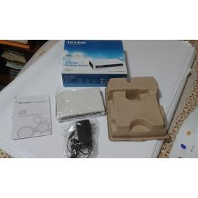 Tp-link Switch Router 5 Puertos Tl-sf1005d 200 Mbps 10/100