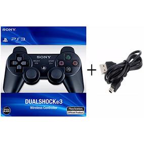 Manete Dualshock 3 Playstation 3 Modelo Original + Cabo Usb