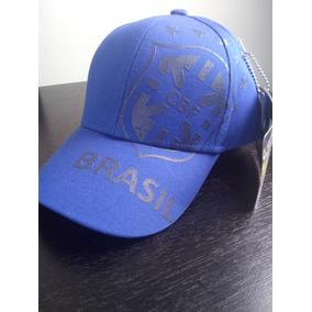 e895f34c2f Boné Seleção Brasileira Azul - Acessórios da Moda no Mercado Livre ...