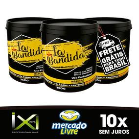 3 Mascara De La Bandida 350g (grifecosméticos )