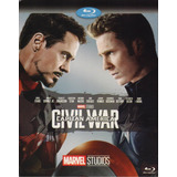 Capitan America Civil War Guerra Marvel Pelicula Blu-ray