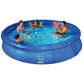 Piscina Redonda 3400 Litros Inflavel Splash Fun 1050 - Mor