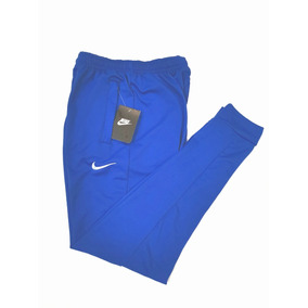 Pants Nike Azul Rey French Terry Suave,ligero Bordado Paloma