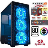 Pc Gaming Ryzen 5 2400g (i5 8400). 8gb Ram Ddr4. 3gb Video.