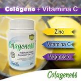 Colágeno Hidrolizado Con Magnesio, Zink, Vitaminac Biotina