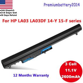 La03df Batería Para Hp 14-y 15-f La03 15-f001xx 15-f003-8026 por Ebay a9ee3c9749cee