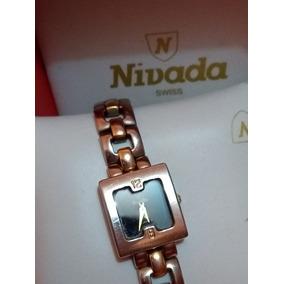 Reloj Original Nivada Dama En Oro