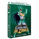 Dvd Os Cavaleiros Do Zodíaco: Dragon Box - Série Clássica