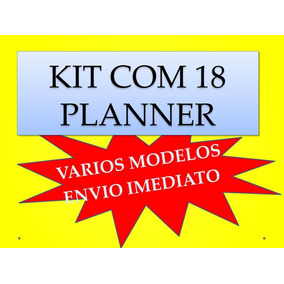 Kit 18 Planner Professor 2018 Mais 10 2019 Todos Em Word
