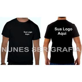 19 Camisas Camisetas Personalizada Logomarca Foto Promoção d04e24c449571