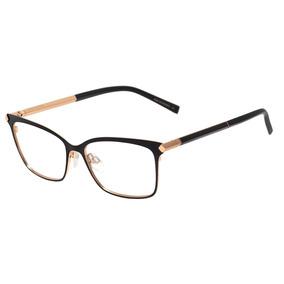 Ana Hickmann Ah 1329 - Óculos De Grau 09a Preto Fosco E Dour 2d2921b867