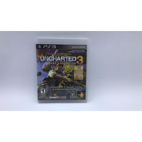 Uncharted 3 - Ps3 - Midia Fisica Em Cd Original