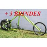 Projeto Bicicleta E Moto Chopper + 3 Brindes