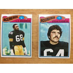 00ce426f566c2 1977 Topps Mexican Nfl Acereros Steelers Set 2 Tarjetas
