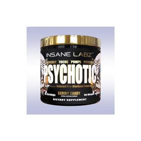 Aminoacidos Pre Entreno Psychotic Gold 35serv Envio Hoy