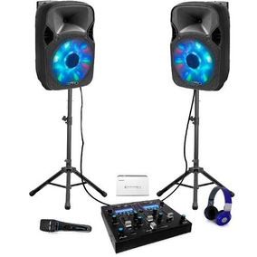 Combo De Sonido Dj Technical Pro Go Djpack2go