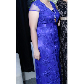 Vestido Azul Royal.