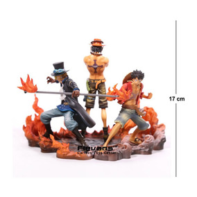 Action Figure Combo One Piece 17cm Pvc