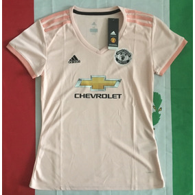 Increible Jersey Manchester United Rosa 3er 2019 Mujer Dama f77753d815322