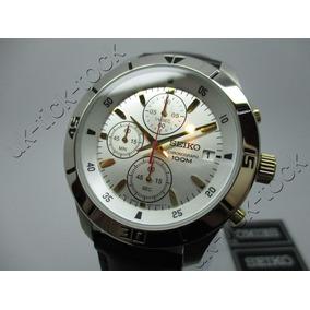 e820418c8fd Relogio Cronografo Auriol Classico Quartz Seiko - Relógios De Pulso ...