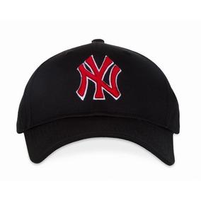 Gorra Mlb New York  ny Yankees Negra Letras Rojas Unitalla b4dcc53336b