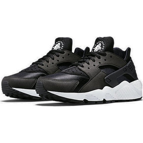 super popular 439f9 65e0b Zapatillas Nike Air Huarache Run Negro Blanco Original 2017