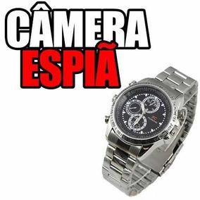 d628f71fc5a Relogio De Pulso Masculino Micro Camera Espia Hd Tecnologia
