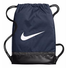 72ac52ed1e107 Mochila Para Gimnasio De Hombre Marca Nike- Color Azul