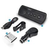 Altavoz Bluetooth Para Automóvil Manos Libres, Sunitec Viser