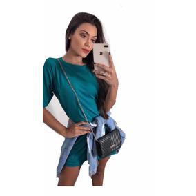 Blusão Camisão Feminino Vestido Oncinha Camuflado