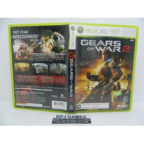 Gears Of War 2 Original Midia Fisica Completa P/ Xbox 360