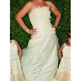 9299b631e74320 Vestido De Novia Talla 7-9 Color Ivory Eugenia Novias