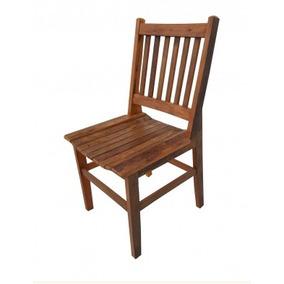 Conjunto 4 Cadeiras Ana Hichmann Madeira Maciça De Demolição