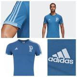 Camisa Palmeiras adidas Azul 2018 Original, Frete Grátis!