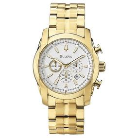 Relógio Masculino Bulova Chronograph Wb30980h - Dourado