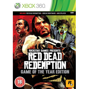 Red Dead Redemption Xbox 360 - Mídia Digital