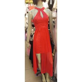 1e9ee25534 Vestido Largo Coral Para Dama Nuevo