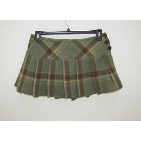 Minifalda Estilo Colegiala Abercrombie Talla 4
