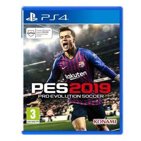 Pro Evolution Soccer 2019 - Pes 2019 - Pes 19 Ps4