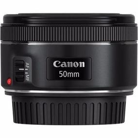 Lente Canon Ef 50mm F/1.8 Stm Com Motor De Auto-foco Nova.