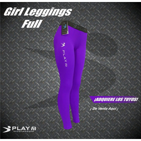 Leggings Mallon Licra Deportivo Mujer Varios Colores