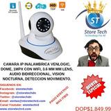 Camara Ip Inalambrica Venlogic, Dome, 1mpx Con Wifi, 3.6 Mm