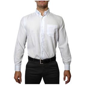 Camisa Social Masculina Longa Para Evento Uniforme Empresa a8d94d85212