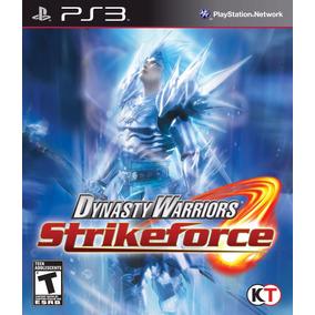 Jogo Dynasty Warriors Strikeforce (novo) Ps3